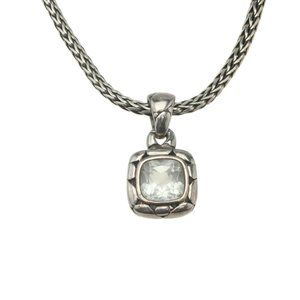 John Hardy Kali Pendant 925 2mm Necklace 182056
